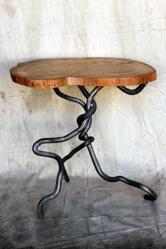 Osage Orange End Table